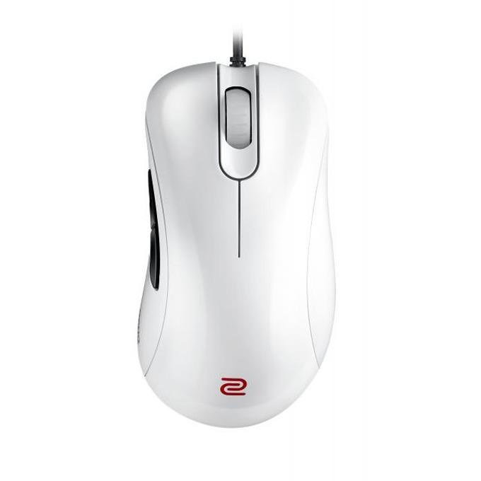 Мишка ZOWIE EC1-A, оптична (3200 dpi), гейминг, бяла, USB image