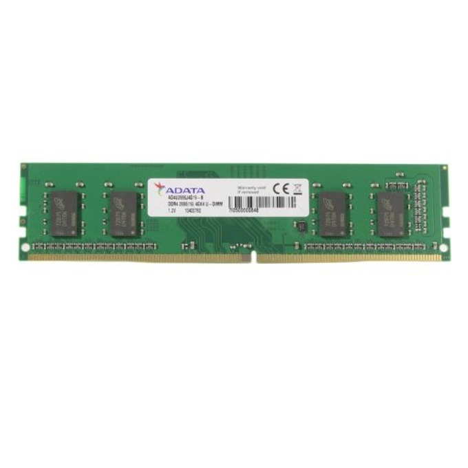 4GB DDR4 2400 MHz, A-Data AD4U2400W4G17-B, 1.2V image
