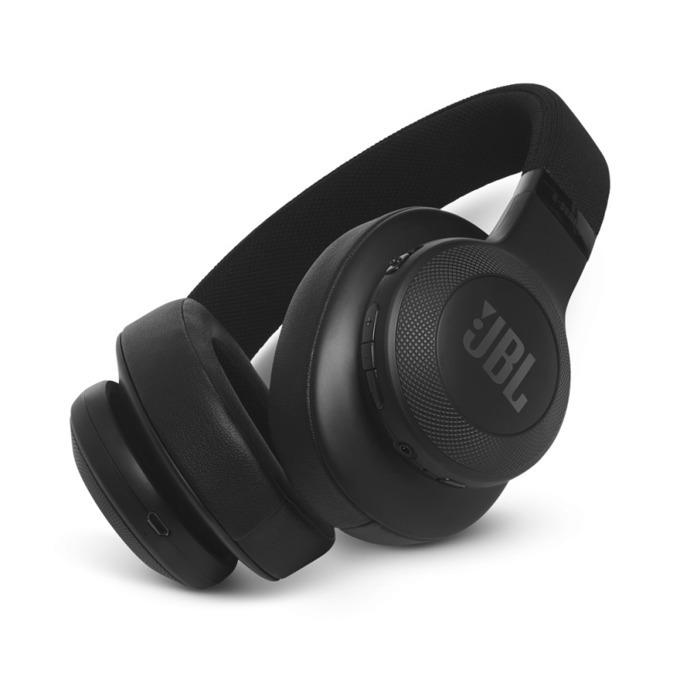 Слушалки JBL E55BT, безжични, микрофон, до 20 часа работа, черни image