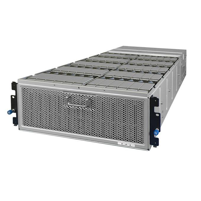 """Мрежови диск (NAS) HGST 4U60(1ES0034), 480TB HDD(60x 8TB), SAS 12Gb/s, 3.5"""" (8.89 cm), 2x 1,650W PSU's, 2x RJ-45, 2x SAS QSFP+ image"""
