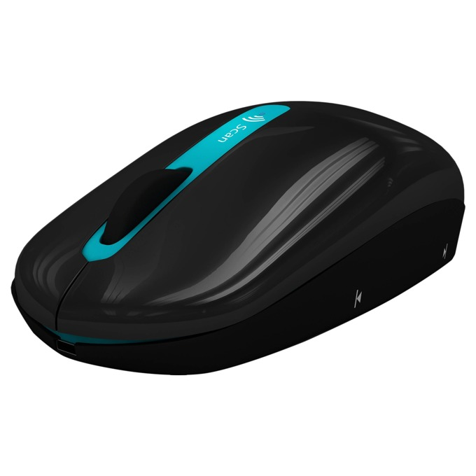 Скенер + Мишка в едно IRIS IRIScan Mouse 2 WiFI, 300 x 300 dpi, A4, литиево-йонна батерия image