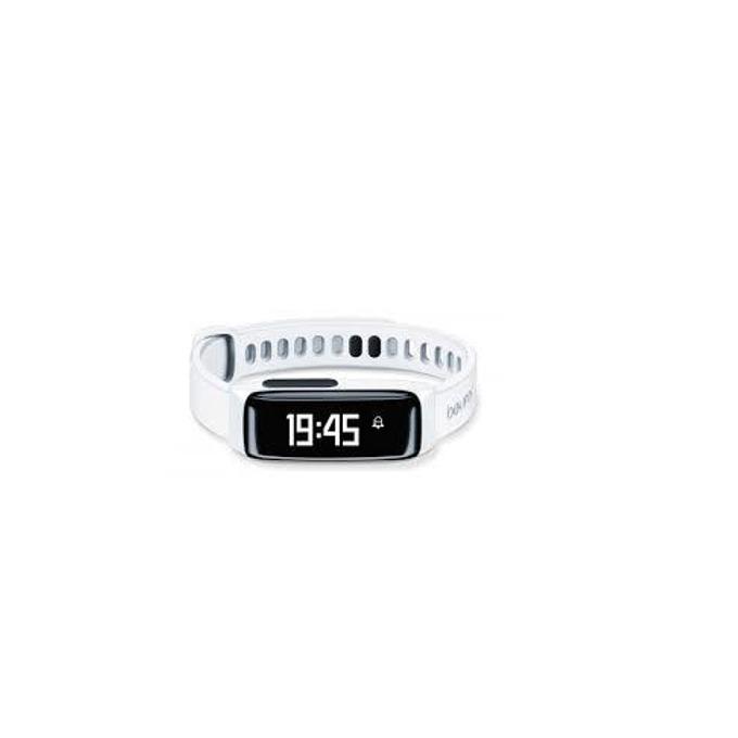 Фитнес гривна Beurer AS81 BodyShape, Bluetooth, сензор : крачки, изгорени калории, IPX4, бяла image