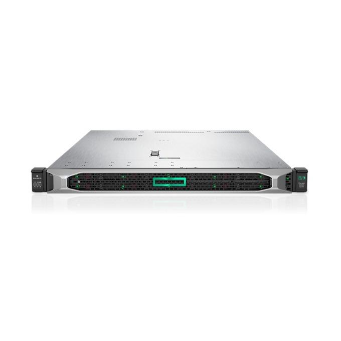 Сървър HPE ProLiant DL360 G10 (PERFDL360-003), десетядрен Intel Xeon-Silver 4114 2.2GHz, 2x 16GB 2Rx8 PC4, 2x 300GB SAS HDD, DP, VGA, 4x 1GbE, 1x Micro SD, 5x USB 3.0, 2x 500W захранване image