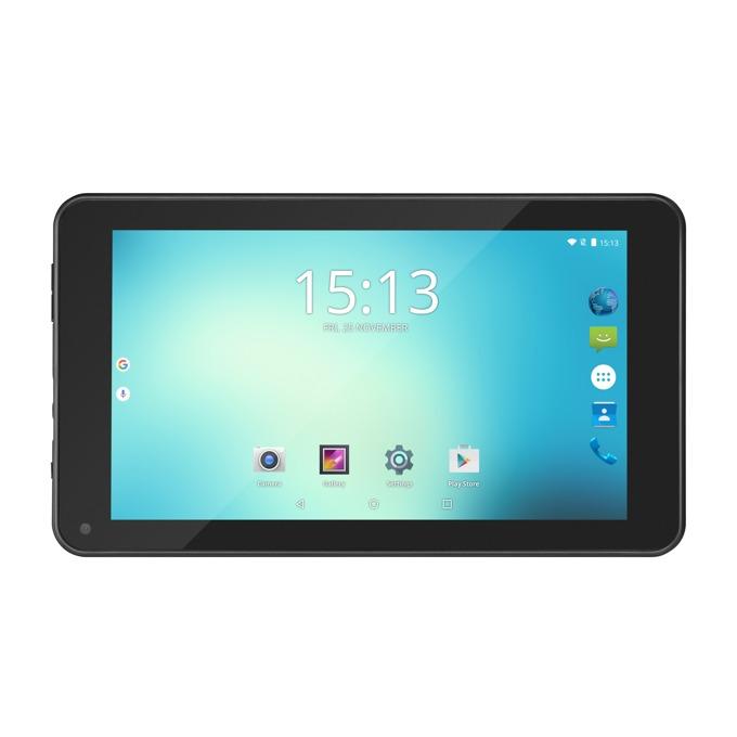 "Таблет Acme TB719(черен), 7.0""(17.78 cm) TN дисплей, четириядрен Rockchip RK3126 Cortex-A7 1.3GHz, 1GB RAM, 8GB Flash памет(+microSD слот), 0.3 & 0.3 Mpix camera, Android image"