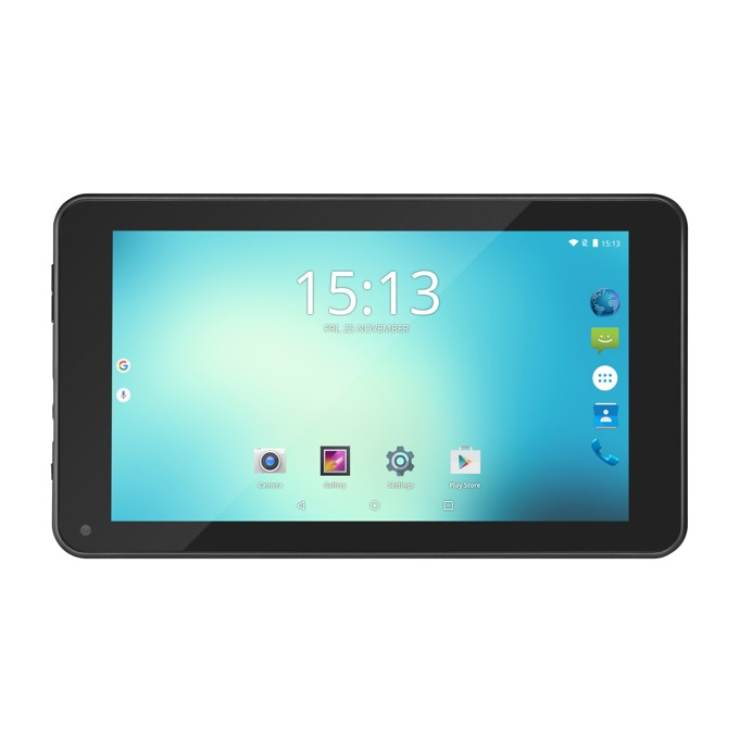 "Таблет Acme TB719(черен), 7.0""(17.78 cm) TN дисплей, четириядрен Rockchip RK3126 Cortex-A7 1.3GHz, 1GB RAM, 8GB Flash памет(+microSD слот), 0.3 & 0.3 Mpix камера, Android image"