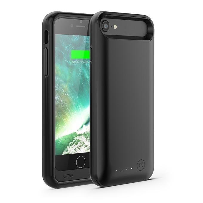 Калъф за iPhone 8, iPhone 7, A-solar Xtorm Power Case AM414, поликарбонатов, с вградена 3100mAh батерия, черен image