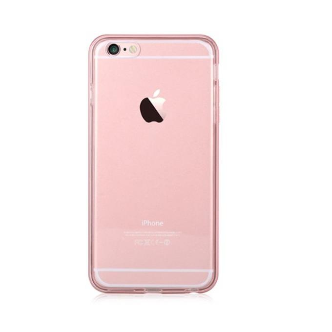 Хибриден протектор Devia за Apple iPhone 6S и iPhone 6, розово злато image