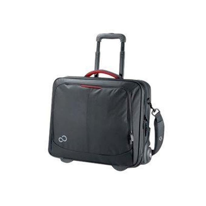 """Куфар за лаптоп Fujitsu Prestige Trolley 17, до 17.3"""" (45 cm), черна image"""