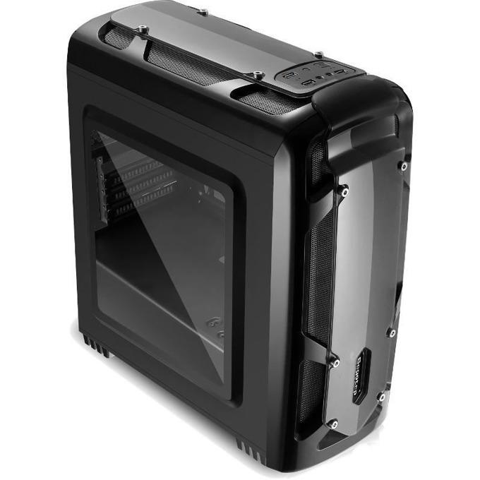 Кутия Segotep Polar Light, microATX, Mini-ITX, 1x USB 3.0, черна, без захранване image