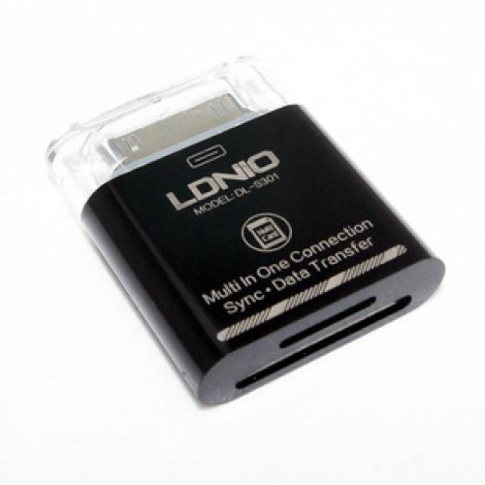 Четец за карти LDNIO DL-S301, за Samsung Tablet, microSD/SD/MMC, черен image