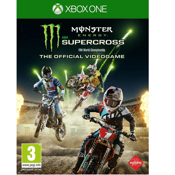 Игра за конзола Monster Energy Supercross - The Official Videogame, за Xbox One image