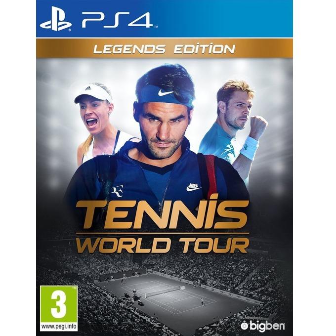 Игра за конзола Tennis World Tour Legends Edition, за PS4 image