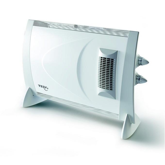 Конвектор Tesy CN 202 ZF, термостат, 4 степени, Устройство против замръзване, 2000W, бял image