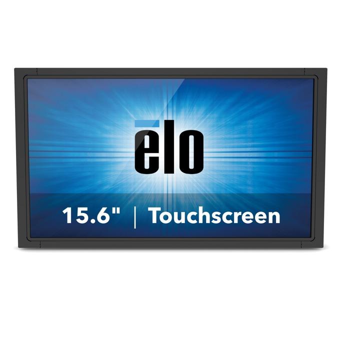 """Монитор ELO E329636, 15.6""""(39.62 cm), TN тъч панел, WXGA, 10ms, 500:1, 270cd/m2, VGA, DisplayPort, HDMI, RS232, черен image"""