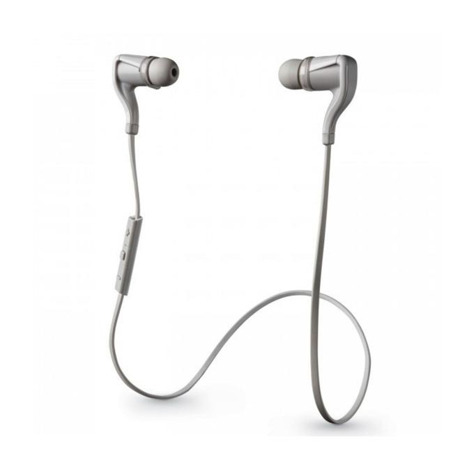 "Слушалки Plantronics BackBeat Go 2 (бели), Bluetooth, тип ""тапи"", влаго/водоустойчиви, микрофон image"
