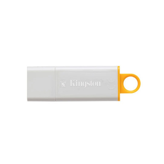 8GB USB Flash Drive, Kingston DataTraveler Generation 4, USB 3.0, бяла image