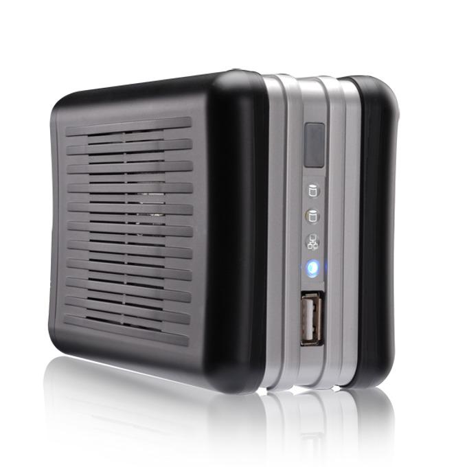 "Thecus N0204, без твърд диск(2x 3.5"" SATA), 2x USB, 1x Lan1000, RAID 0, 1 и JBOD image"