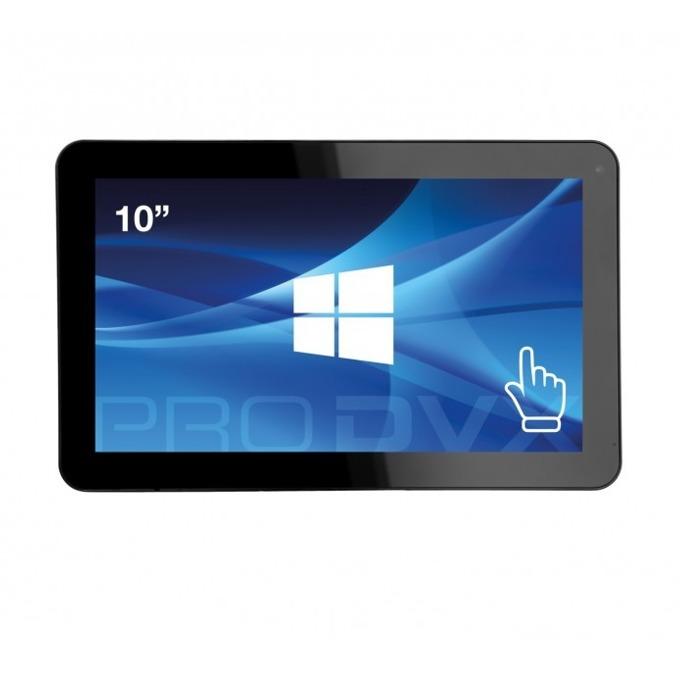 "All in One компютър ProDVX IPPC-10 HD, четириядрен Braswell Intel Celeron N3160 1.6/2.24 GHz, 10.1"" (10.1 cm) WXGA LED Capacitive Multi Touch Display, 4GB DDR3L, 64GB SSD, USB 3.0, Free DOS image"