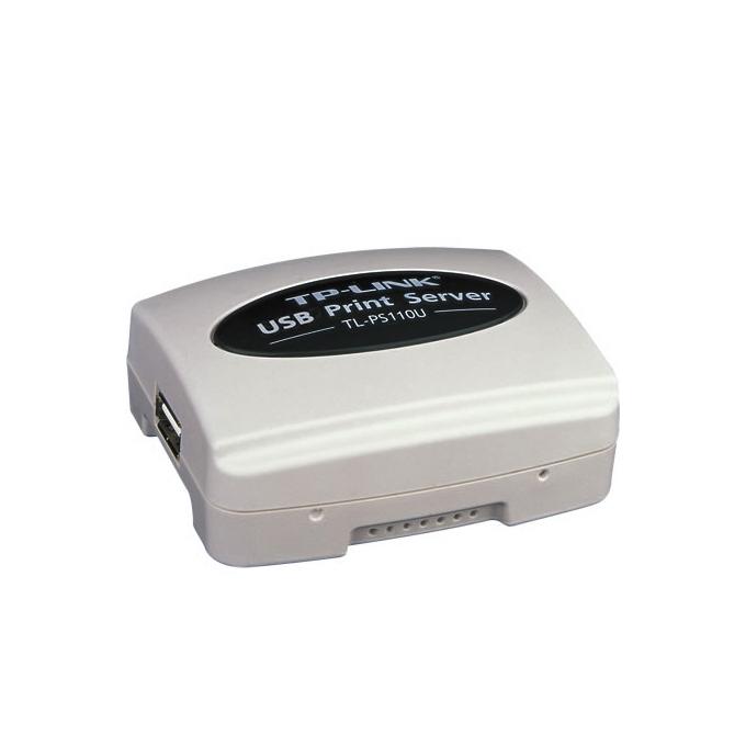 PrintServer TP-Link TL-PS110U, 1xUSB 2.0 port & 1xLan10/100 image