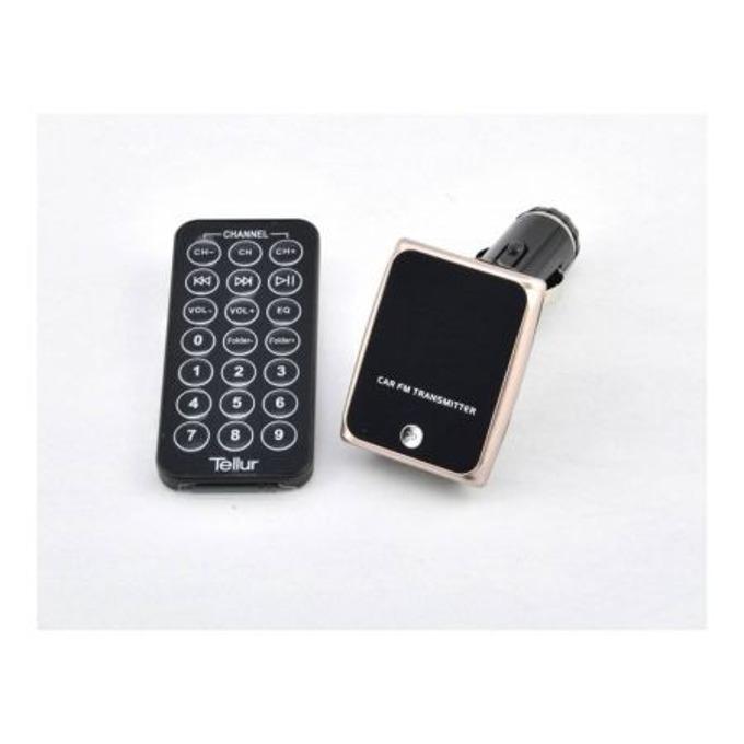 FM трансмитер Tellur T692-M, дистанционно, поддържа SD карти, USB image