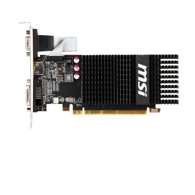 Видео карта AMD Radeon™ R5 230, 2GB,MSI Radeon R5 230, PCI-E 2.1, DDR3, 64 bit, 1x VGA, 1x HDMI, 1x DVI image