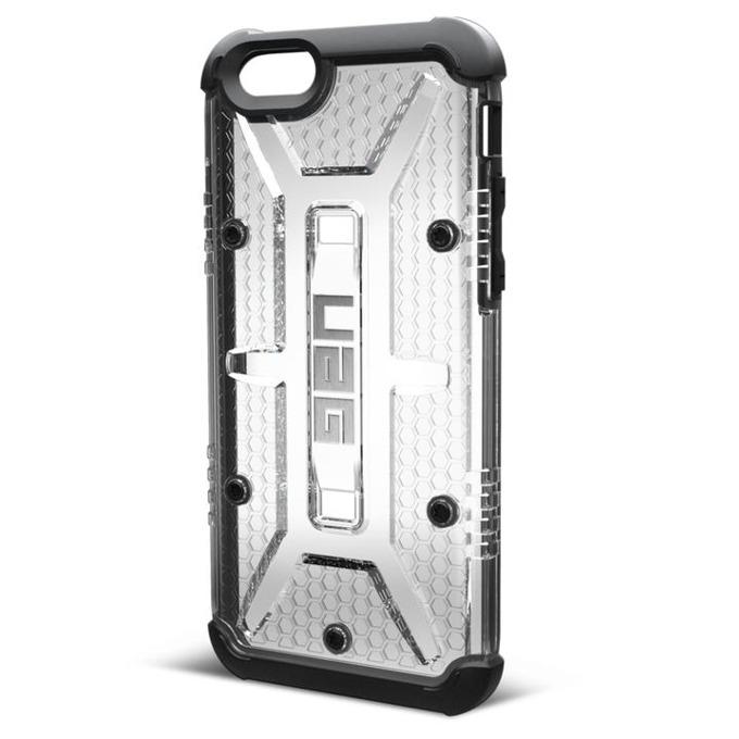 Поликарбонатов протектор Urban Armor Scout за iPhone 6 (прозрачно-черен), удароустойчив image