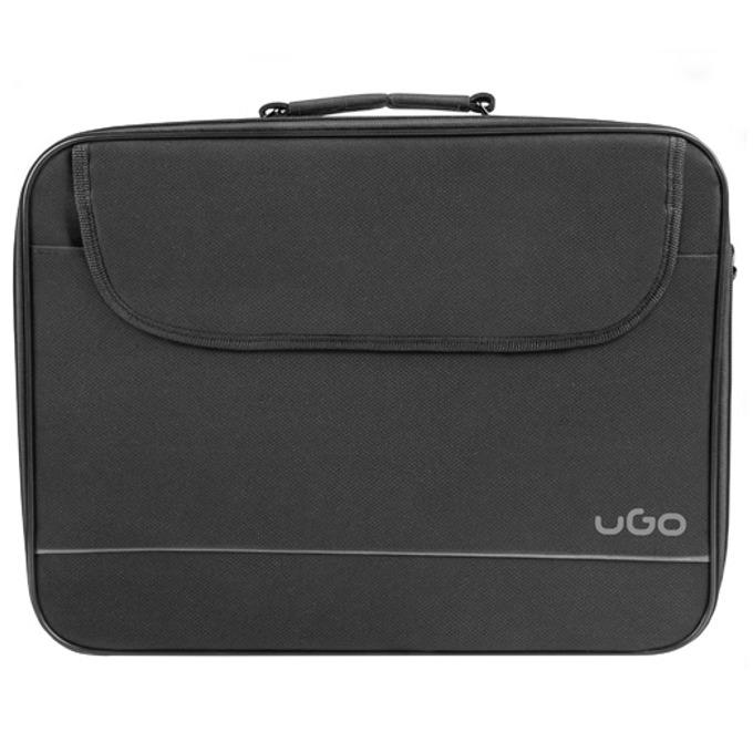 """Чанта за лаптоп uGo Katla BH100, до 14.1"""" (35.81 cm), черна image"""