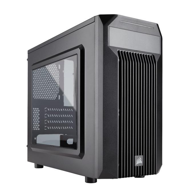 Кутия Corsair Carbide Series SPEC-M2, Mini-ITX/mATX, 1x USB 3.0, прозрачен капак, гейминг, черен, по поръчка image