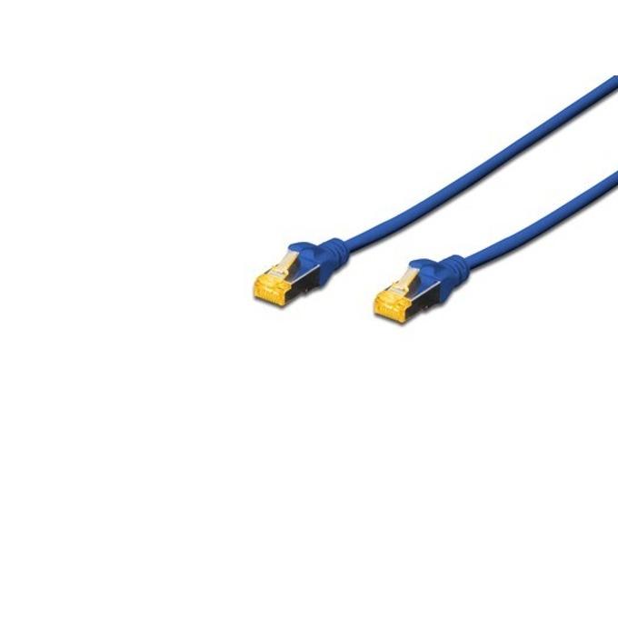 Пач кабел Assmann, SFTP, Cat.6A 2m, син image