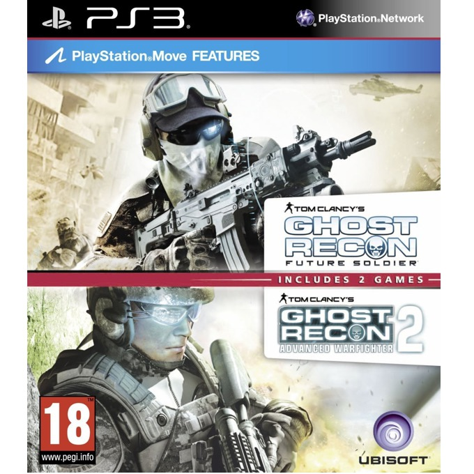 Ghost Recon Future Soldier + Advanced Warfighter 2 product