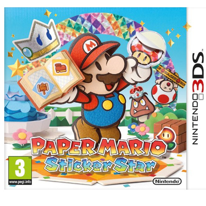 Paper Mario: Sticker Star, за NDS image