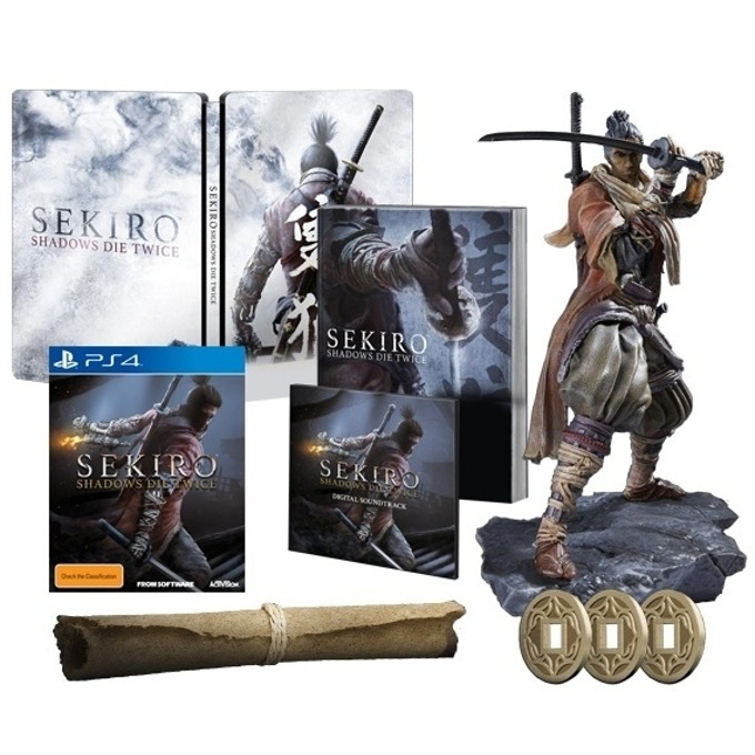 Игра за конзола Sekiro: Shadows Die Twice - Collector's Edition, за PS4 image