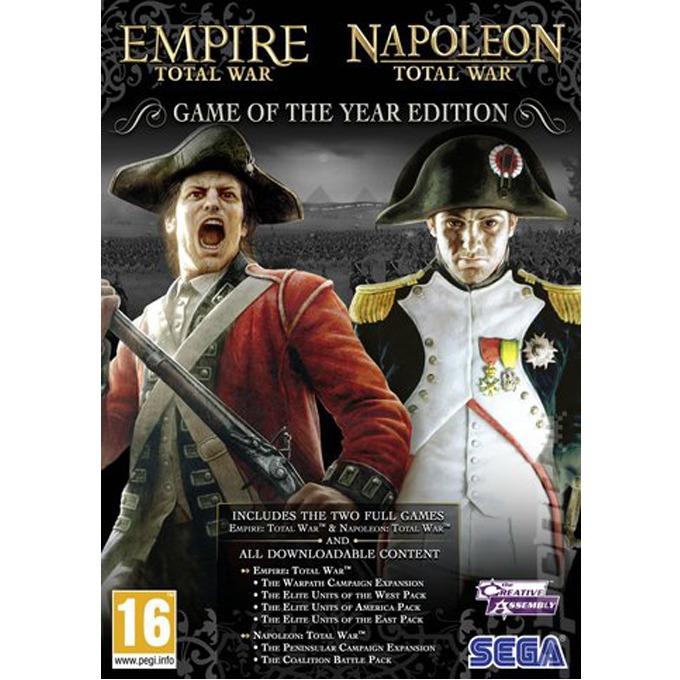 Empire Total War + Napoleon Total War (пакет 2 в 1), за PC image