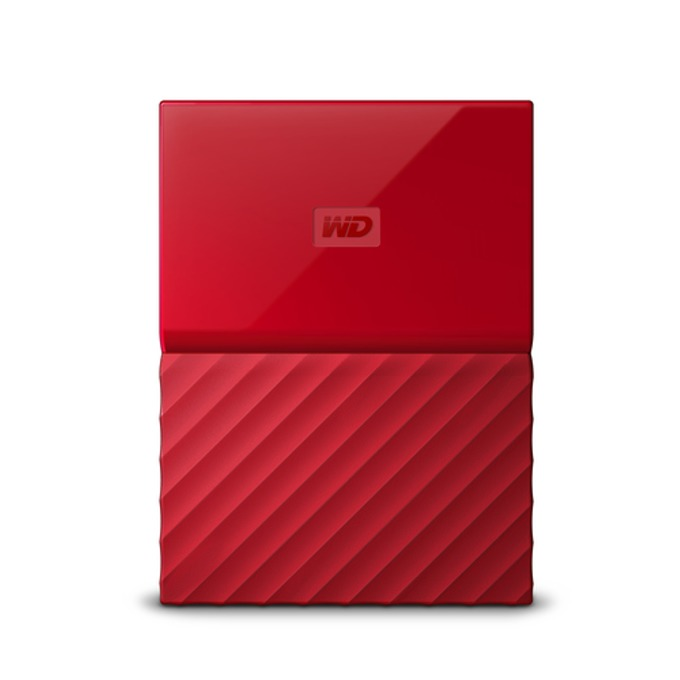 "2TB Western Digital MyPassport (THIN) (червен), 2.5"" (6.35 cm), USB 3.0 image"