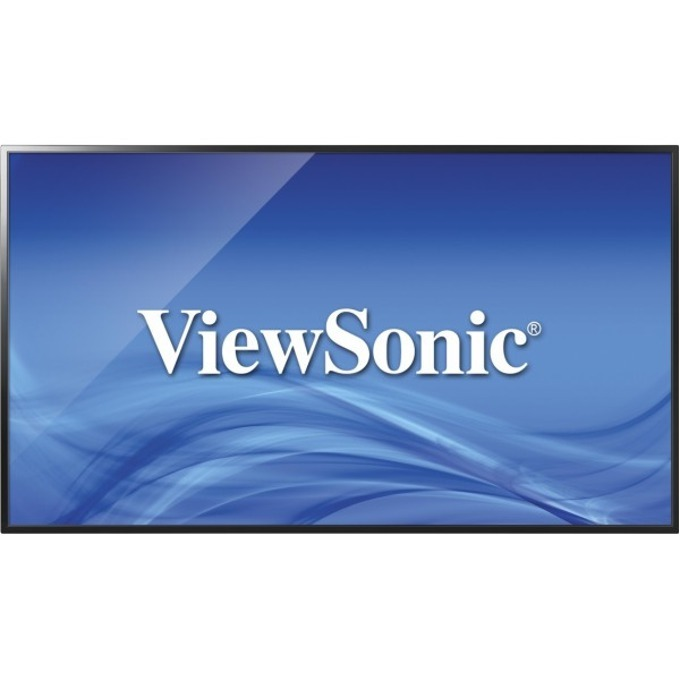 "Публичен дисплей ViewSonic CDE4302, 43"" (109.22cm), Full HD, 2x HDMI, VGA, Audio, USB image"
