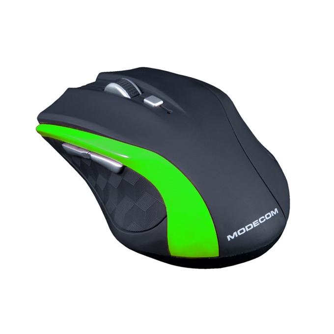 Мишка Modecom WM5, безжична, оптична (1600 dpi), USB, черна image