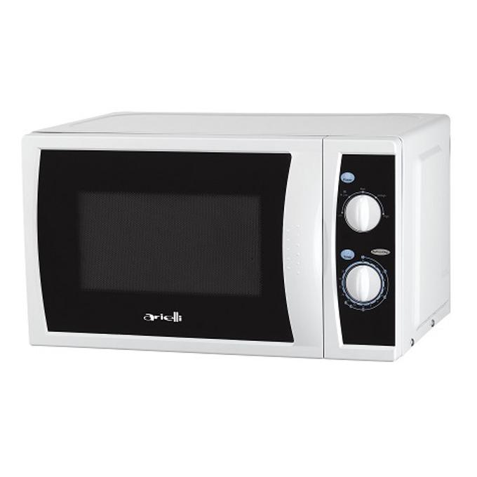 Микровълнова фурна Arielli MM720CQL, механично управление, 700W, 20л. обем, бяла image