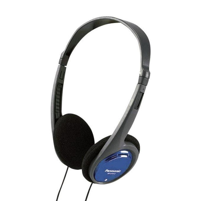 Слушалки Panasonic RP-HT010E, 16 - 22 000 Hz, 1.2 м кабел, сиви  image