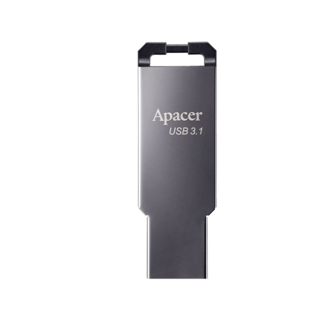 Памет 64GB USB Flash Drive, Apacer AH360, USB 3.1, сив image
