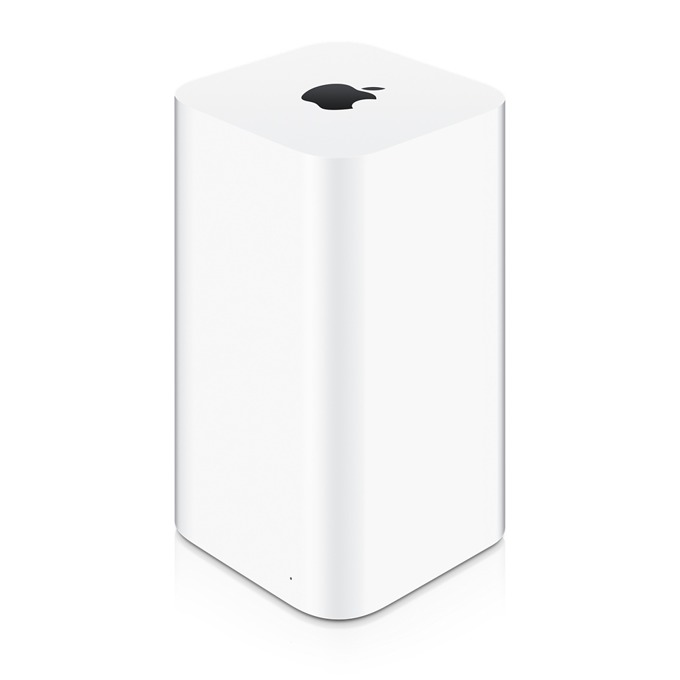 Рутер Apple AirPort Time Capsule, 2.4GHz/5GHz, Wireless AC 1300Mbsp, NAS 3TB, 3x LAN 1000, 1x USB2.0 image
