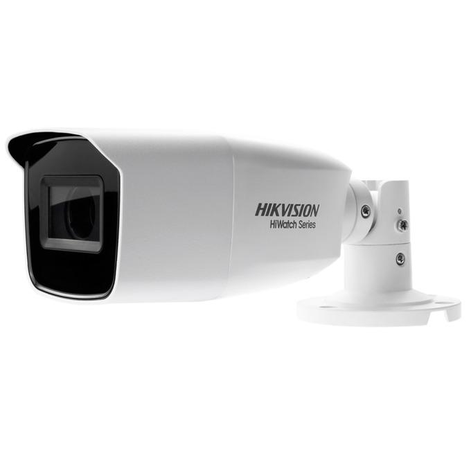 "HDCVI камера HikVision HWT-B320-VF, насочена ""bullet"" камера, 2MPix(1920x1080@25fps), 2.8~12 mm, IR осветеност (до 40 m), външна IP66 image"