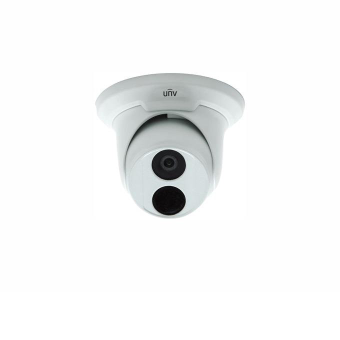 IP камера UNV IPC3614SR3-DPF28, куполна, 4.0Mpix, (2592×1520), 2.8mm, IR осветеност (до 30 метра), външна, PoE (IEEE802.3 af) image