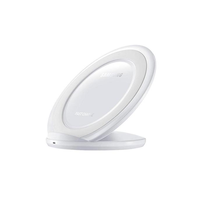 Зарядно у-во за Samsung Galaxy S6/S6 Edge, S7/S7 Edge, безжично, бяло image