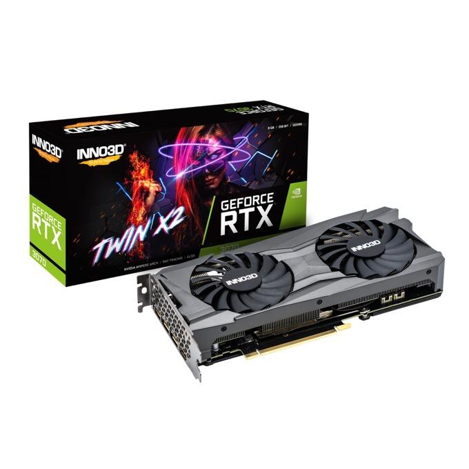 Inno3D GeForce RTX 3070 Twin X2