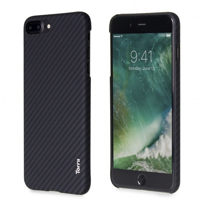 Калъф за Apple iPhone 8 Plus/7 Plus, кевларен, KeVest Hard Case, черен image