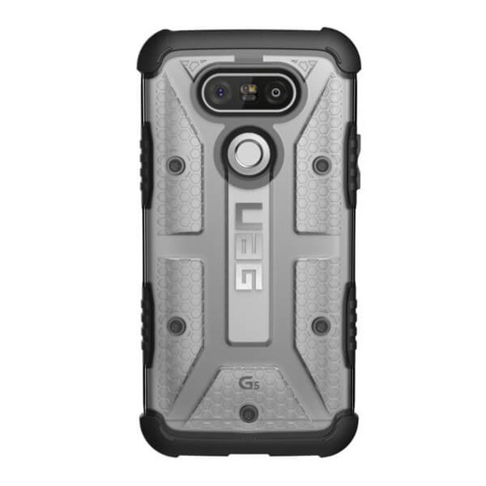 Поликарбонатов Протектор Urban Armor Gear Scout, удароустойчив, за LG G5, Прозрачен image