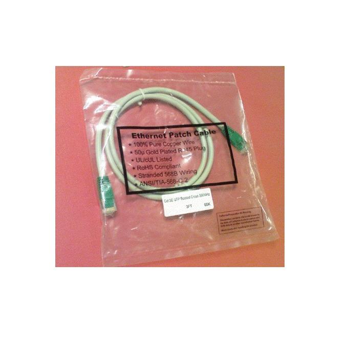 Пач кабел ACnetPLUS, UTP, Cat 5e, 0.9m, сив image