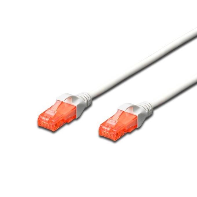 Пач кабел Digitus DK-1612-050, UTP, cat.6, 5m, сив image