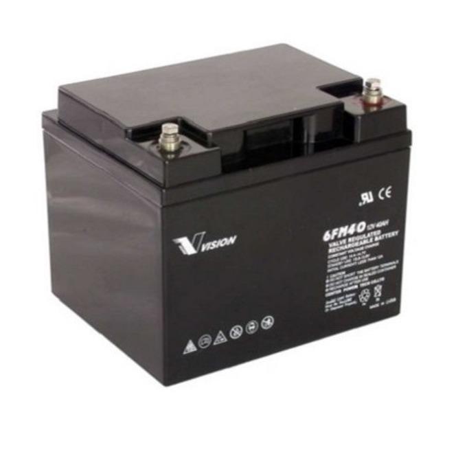 Акумулаторна батерия Vision 6FM40-X, 12V, 40Ah, AGM image