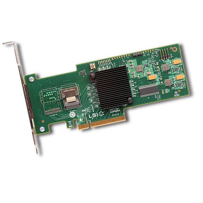 PCI-E x8, LSI MegaRAID SAS 9240-4i Sgl, SAS/SATA3, (RAID 0,1,5,10 and 50) image